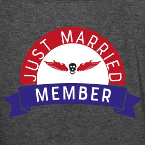 just married - Women's Vintage Sport T-Shirt