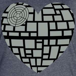 Death star heart - Women's Vintage Sport T-Shirt