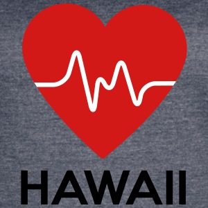 Heart Hawaii - Women's Vintage Sport T-Shirt