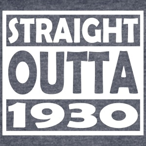 87th Birthday T Shirt Straight Outta 1930 - Women's Vintage Sport T-Shirt