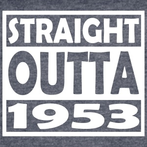 64th Birthday T Shirt Straight Outta 1953 - Women's Vintage Sport T-Shirt