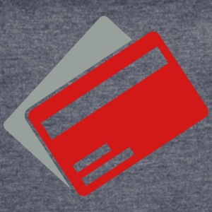 credit card - Women's Vintage Sport T-Shirt