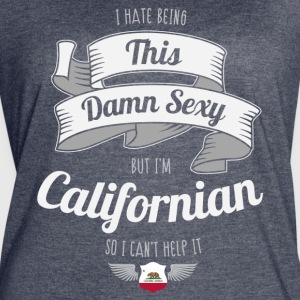 Sexy Californian - Women's Vintage Sport T-Shirt