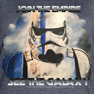 Join The Empire See The Galaxy - Women's Vintage Sport T-Shirt