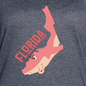 Florida: a funny map. - Women's Vintage Sport T-Shirt