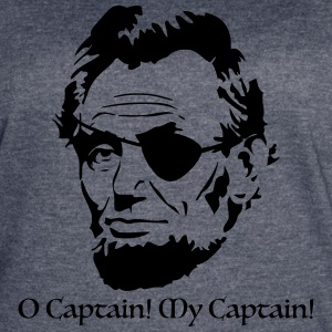 O Captain! My Captain! - Women's Vintage Sport T-Shirt