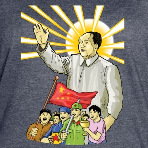 Mao Waves to the People - Women's Vintage Sport T-Shirt