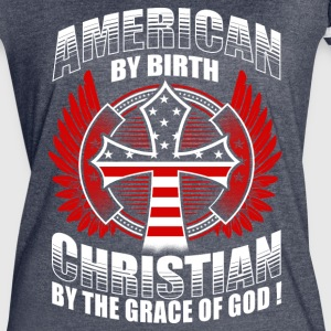 CHRISTIAN BY THE GRACE OF GOD - CHRISTIAN SHIRTS - Women's Vintage Sport T-Shirt