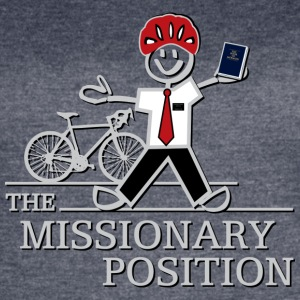 The Missionary Position (Dark) - Women's Vintage Sport T-Shirt