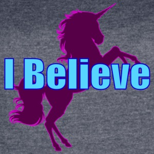 Unicorn purple and blue - Women's Vintage Sport T-Shirt