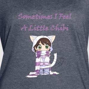 Little cute chibi girl kids - Women's Vintage Sport T-Shirt