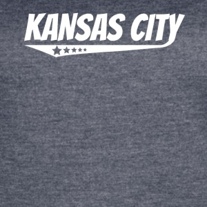 Kansas City Retro Comic Book Style Logo - Women's Vintage Sport T-Shirt