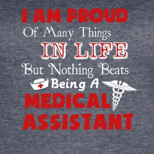 Medical Assistant Tee Shirt - Women's Vintage Sport T-Shirt