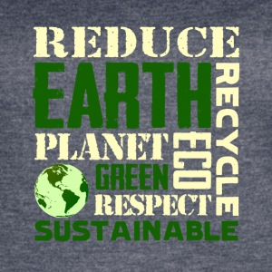 Earth Day Green Sustainable Tshirts - Women's Vintage Sport T-Shirt