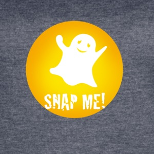 snap1 Monster ghost yellow fun Humor happy video - Women's Vintage Sport T-Shirt