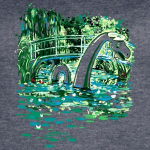 Water Lilies and Nessy - Women's Vintage Sport T-Shirt