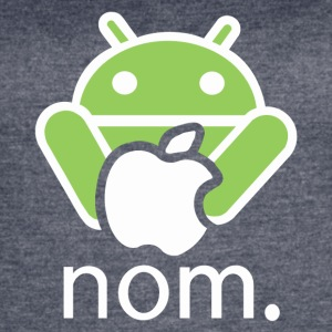 Andy Nomming on an Apple - Women's Vintage Sport T-Shirt