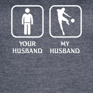 Husband Soccer Player Love-cool shirt,geek hoodie - Women's Vintage Sport T-Shirt