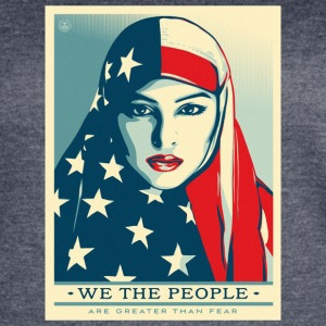 We the people are greater than fear - Women's Vintage Sport T-Shirt