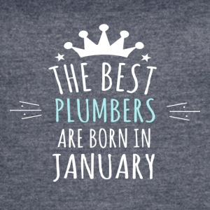 Best PLUMBERS are in january - Women's Vintage Sport T-Shirt