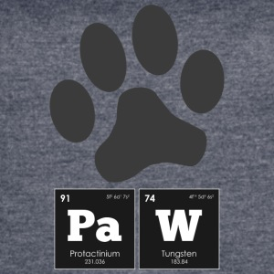 Periodic Elements: PaW - Women's Vintage Sport T-Shirt