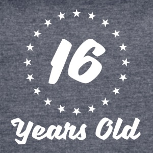 16 Years Old - Women's Vintage Sport T-Shirt