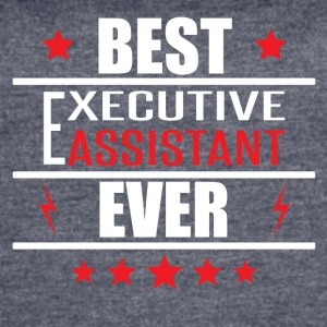 Best Executive Assistant Ever - Women's Vintage Sport T-Shirt