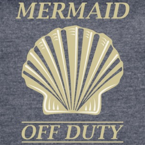 Mermaid Off Duty - Women's Vintage Sport T-Shirt