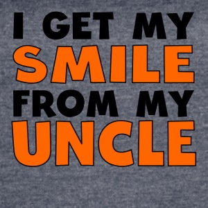 I Get My Smile From My Uncle - Women's Vintage Sport T-Shirt