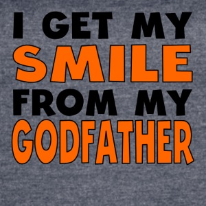 I Get My Smile From My Godfather - Women's Vintage Sport T-Shirt