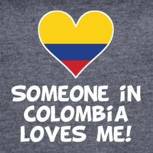 Someone In Colombia Loves Me - Women's Vintage Sport T-Shirt