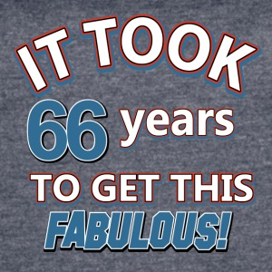 66th birthday party - Women's Vintage Sport T-Shirt