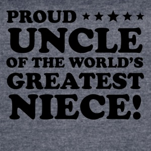 Proud Uncle Of The World's Greatest Niece - Women's Vintage Sport T-Shirt