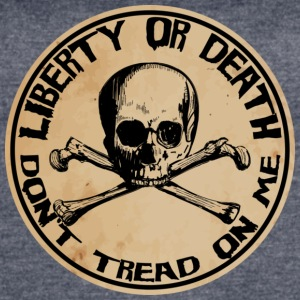 Liberty or Death Dont Tread On Me - Women's Vintage Sport T-Shirt