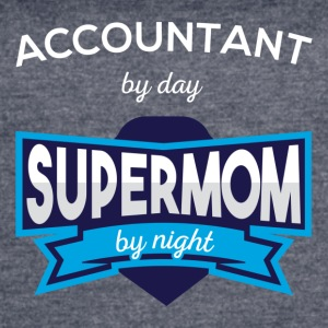 Accountant by day supermom by night - Women's Vintage Sport T-Shirt