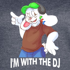I'm With The DJ Fun - Women's Vintage Sport T-Shirt