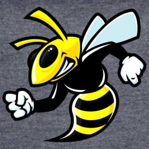funny_yellow_bee - Women's Vintage Sport T-Shirt