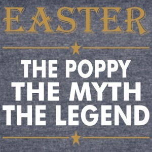Easter The Poppy The Myth The Legend - Women's Vintage Sport T-Shirt
