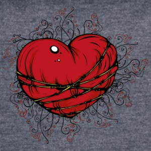 vintage heart illustration image cool art - Women's Vintage Sport T-Shirt
