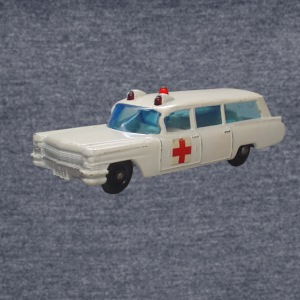 WHITE AMBULANCE - Women's Vintage Sport T-Shirt