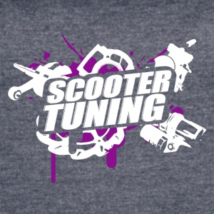 Scootertuning purple/white - Women's Vintage Sport T-Shirt