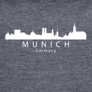 Munich Germany Skyline - Women's Vintage Sport T-Shirt