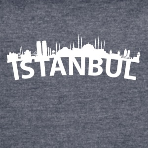 Arc Skyline Of Istanbul Turkey - Women's Vintage Sport T-Shirt
