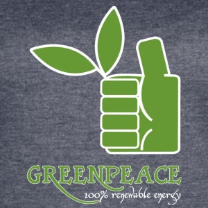 Greenpeace 100 renewable energy - Women's Vintage Sport T-Shirt