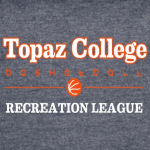 Topaz College Basketball - Women's Vintage Sport T-Shirt