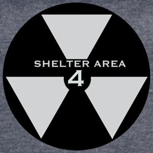 ShelterArea4 patch gray - Women's Vintage Sport T-Shirt