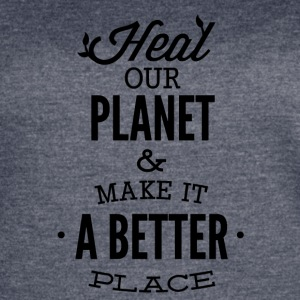 HEAL_OUR_PLANET-01 - Women's Vintage Sport T-Shirt
