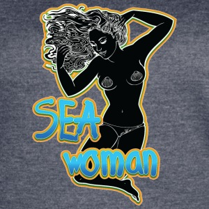 SEA_woman_black - Women's Vintage Sport T-Shirt
