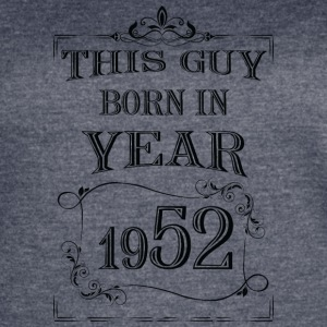 this guy born in year 1952 black - Women's Vintage Sport T-Shirt