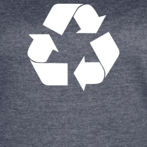 Recycle Symbol - Women's Vintage Sport T-Shirt